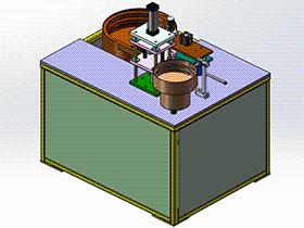 钣金自动上料打螺丝机 SPLA1007 solidworks 3D图纸 三维模型