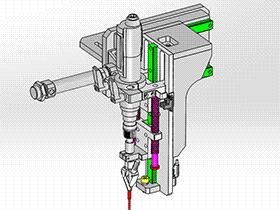 径向锁螺丝机构 SPLA1010 solidworks 3D图纸 三维模型