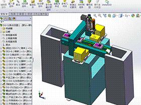全自动PCBA自动锁螺丝机 带工程图 SPLA2004 solidworks 3D图纸 三维模型