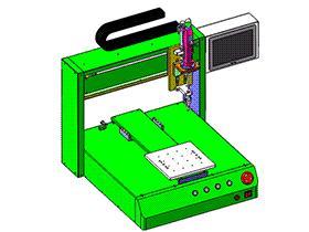 XYZ台式三轴螺丝机 SPLA2008 solidworks 3D图纸 三维模型