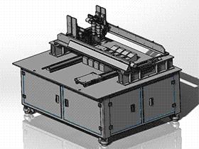 自动锁螺丝机 SPLB1002 solidworks  3D图纸 三维模型