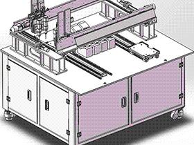螺丝排列机 SPLB1005 solidworks  3D图纸 三维模型