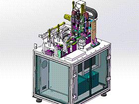 双头锁螺丝机构 带工程图 SPLC2004 solidworks格式 3D图纸 三维模型