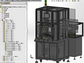 转盘式多工位半成品全自动锁螺丝机 SPLE1002 solidworks  3D图纸 三维模型