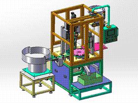 全自动螺栓锁紧多工位自动化设备 SPLE1003 solidworks  3D图纸 三维模型
