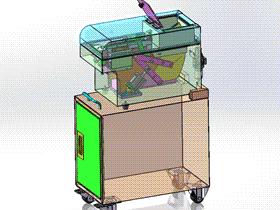 手动锁螺丝机 带工程图 SPLS2002 solidworks  3D图纸 三维模型
