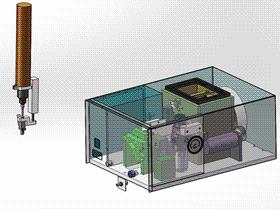 通用型手动锁螺丝机 SPLS2003 solidworks  3D图纸 三维模型