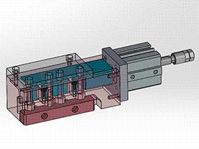 1出2振盘口分螺丝机构 splw1003 STEP格式 3D图纸 三维模型