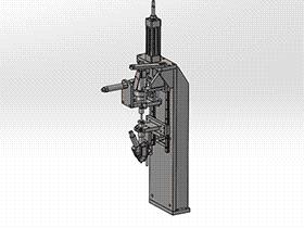 螺丝自动上料锁附 splx1002 solidworks 3D图纸 三维模型