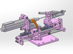 锁螺丝模组 splx1004 solidworks 3D图纸 三维模型