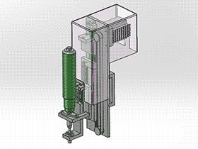 自动锁螺丝机 锁螺丝头 splx1008 solidworks 3D图纸 三维模型
