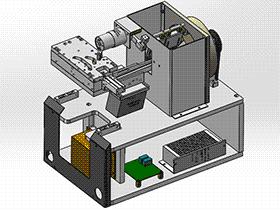 通用螺丝机螺丝震动输送机构 splw2001 Solidworks格式 3D图纸 三维模型