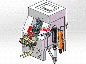 勾盘式螺丝供料机、螺丝机供料机 splw2003 Solidworks格式 3D图纸 三维模型
