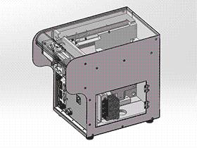 螺丝自动排列机 splw2004 Solidworks格式 3D图纸 三维模型