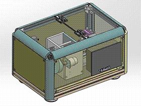 螺丝机 splw2006 Solidworks格式 3D图纸 三维模型