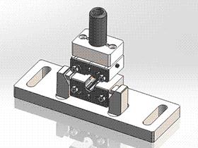 五金模冲压模具 SPMA2001 solidworks  3D图纸 三维模型