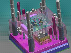经典模具 SPMB1007 solidworks  3D图纸 三维模型