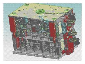 杂出口模具 SPMB1011 solidworks  3D图纸 三维模型
