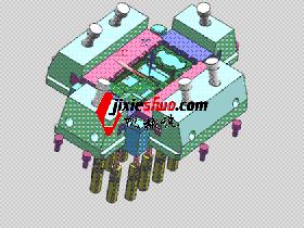 手机模具 SPMB1013 solidworks 3D图纸 三维模型