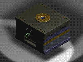 塑料螺旋销钉注塑模具 SPMB1017 solidworks 3D图纸 三维模型