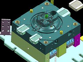 压铸模 SPMC4001 ug  3D图纸 三维模型