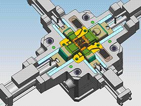 压铸模 SPMC4002 ug  3D图纸 三维模型