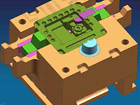 铸造模 SPMC4004 UG  3D图纸 三维模型