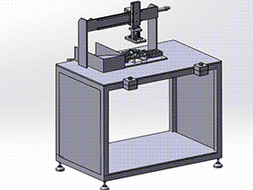 切水口机 SPMQ1002 通用格式 3D图纸 三维模型