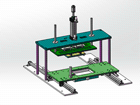 切水口机 SPMQ2002 solidworks 3D图纸 三维模型