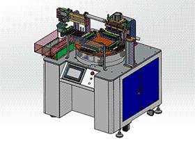 医疗设备切水口机长排棉签切水口设备 SPMQ2003 solidworks 3D图纸 三维模型