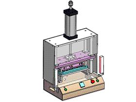 笔记本键盘切水口机 SPMQ2005 solidworks 3D图纸 三维模型
