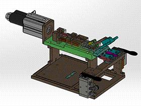 切水口机构 SPMQ2007 solidworks格式 3D图纸 三维模型