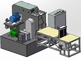 塑胶注塑件热切水口机 SPMQ4002 proe格式 3D图纸 三维模型