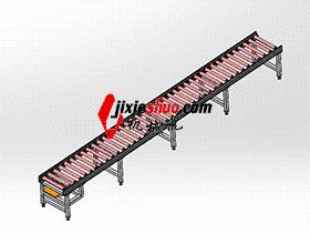 6m滚筒线宽700 SPSA1011 solidworks 3D图纸 三维模型