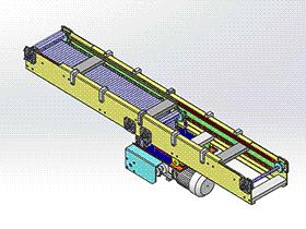 滚筒输送线 SPSA1021 通用格式 3D图纸 三维模型