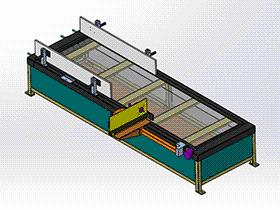 皮带式输送机 SPSB1017 通用格式 3D图纸 三维模型
