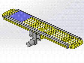 圆皮带输送机 SPSB1018 通用格式 3D图纸 三维模型