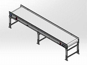 3900皮带传送带输送机 SPSB1021 通用格式 3D图纸 三维模型