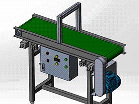 300X1200带式输送机 SPSB1022 通用格式 3D图纸 三维模型