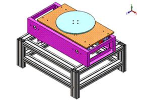 重型顶升移载机 SPSD1004  solidworks 3D图纸 三维模型