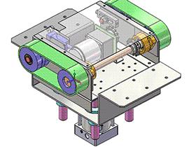 顶升传送装置 SPSD1005  solidworks 3D图纸 三维模型