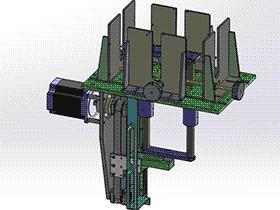 皮带滑轨 顶升送料机构 spsd2007 solidworks 3D图纸 三维模型