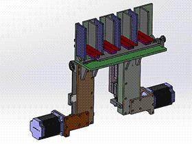皮带滑轨 顶升送料机构 spsd2008 solidworks 3D图纸 三维模型