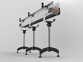 链板传送带输送机 SPSE1002 solidworks  3D图纸 三维模型