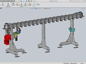 循环流水线3D图纸 k191 SPSE1004 solidworks  3D图纸 三维模型