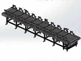 6米链板线总装 SPSE1006 solidworks  3D图纸 三维模型