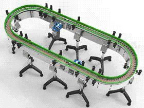 转盘式输送机  SPSG1002 solidworks  3D图纸 三维模型