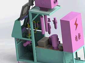 旋转喷淋清洗机 SPWB1006 solidworks  3D图纸 三维模型