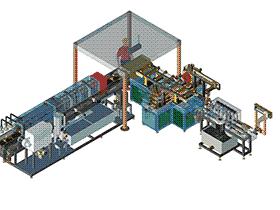 汽车长钟型壳清洗检测线 SPWB1010 solidworks  3D图纸 三维模型