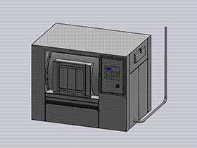 自动清洗机模型 SPWB1013 solidworks 3D图纸 三维模型